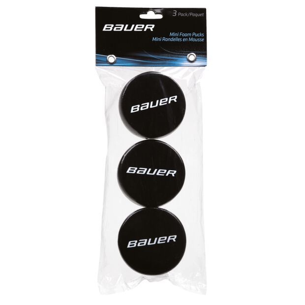 BAUER Mini Schaum Puck - 3er Pack