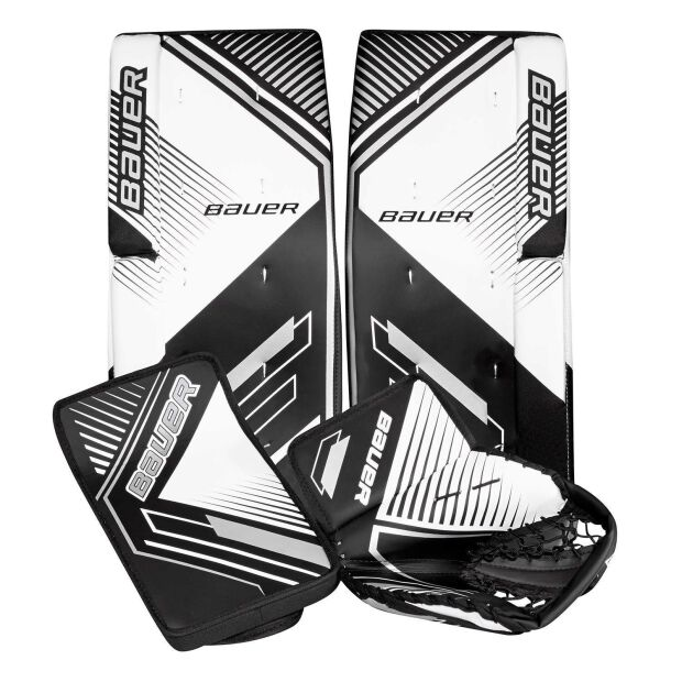 BAUER Streethockey Torwart Set Performance