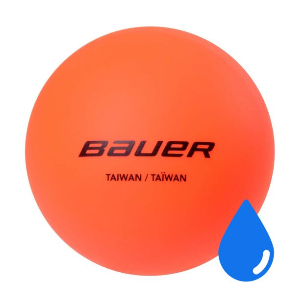 BAUER Hydrog Ball - Liquid filled orange - warm