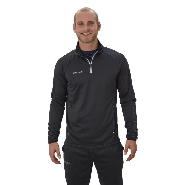 BAUER Fleece 1/4 Zip Top Vapor - [SENIOR]