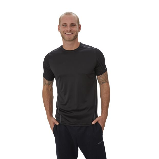 BAUER Team Tech Tee Vapor - [YOUTH]